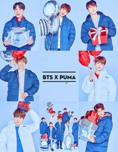★ BTS X PUMA ★