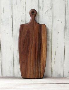 Cutting Board Walnut Wood by foodiebords on Etsy