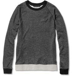 Marc by Marc Jacobs Zipped Loopback Cotton-Jersey Sweatshirt