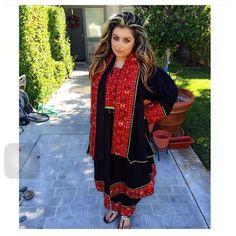 Beautiful Black/Red Afghan dress.   http://www.zarinas.com. Photo thanks to:  @lilyamin_