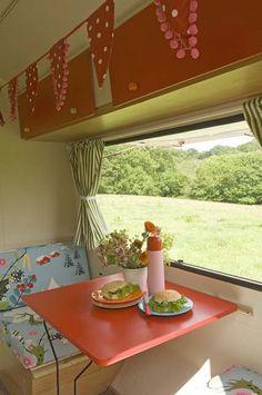 Caravan vintage interior-Lovely