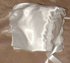 Heirloom Silk Christening Bonnet