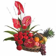 Gracious Fruits, Flowers In India,Valentines Day Gifts To India Online