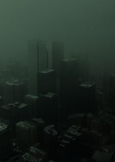 This image appears to be the definition of peaceful. There is no electricity. There is no people. The sun cannot provide power. It is serene. photography dark I'm gone before the devil can say mine Story Inspiration, Writing Inspiration, Dark City, City Aesthetic, Aesthetic Dark, Foto Art, Dark Skies, Monochrom, Futuristic