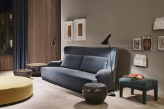 Duke sofa - design Andrea Parisio for Meridiani - Salone del Mobile 2015