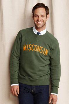 Men's Wisconsin Field Issue Crewneck Sweatshirt