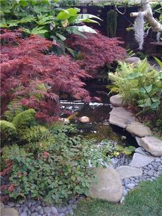 Pond  Fountain and Garden Pond  Landscaping Network  Calimesa, CA So very peaceful, adore it!