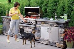 An Outdoor Kitchen | 27 Things That Definitely Belong In Your Dream Home
