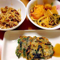 寒い日は、韓国料理で暖まろう(^^) - 5件のもぐもぐ - じゃが芋チヂミ&チゲ鍋うどん by kazuchan