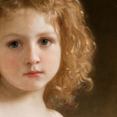 Bouguereau 'The Story Book'(detail) 1877, via Flickr.