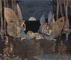 For Mom.    Fairy Music by Ida Rentoul Outhwaite