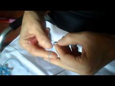 Tutorial tatting and pearls - YouTube