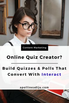 Interact online quiz creator helps you build high converting quizzes and polls that generate leads, qualifies your leads and facilitates your sales funnel