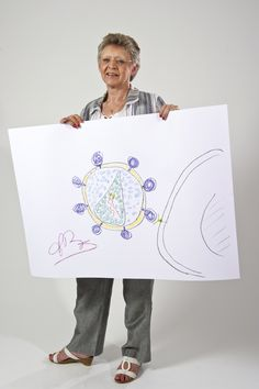Francoise Barre-Sinoussi won the Nobel Prize in physiology or medicine in 2008.