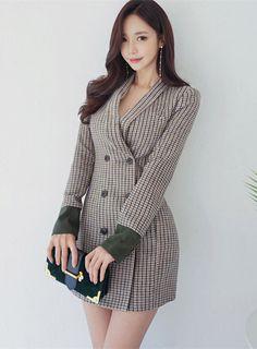 The always beautiful Son Youn Ju Ol Fashion, Korean Girl Fashion, Asian Fashion, Fashion Models, Fashion Dresses, Womens Fashion, Traje Casual, Beautiful Asian Women, Beautiful Images