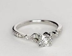 100 Simple Vintage Engagement Rings Inspiration (3)