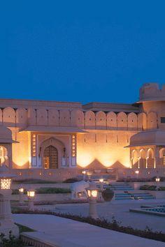 The Oberoi Rajvilas, India is the FHRNews #AmexFHR #luxury #hoteloftheday for Monday, November 14.