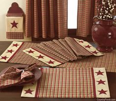 India Home Fashions Lancaster Kitchen Decorating Theme