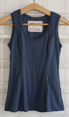 DIY Basic Tank Top with princess seams for shaping