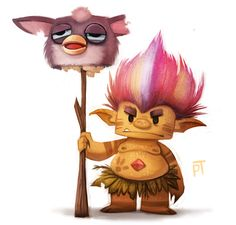 Sketch Dailies Challenge - Troll by Cryptid-Creations on deviantART