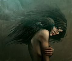 She calls the Crows by ~enmi on deviantART - Emmy Wahlbäck - The Morrigan