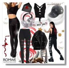 """""""www.romwe.com"""" by bellamonica ❤ liked on Polyvore featuring REBEL8, Proenza Schouler, Vianel and H&M"""