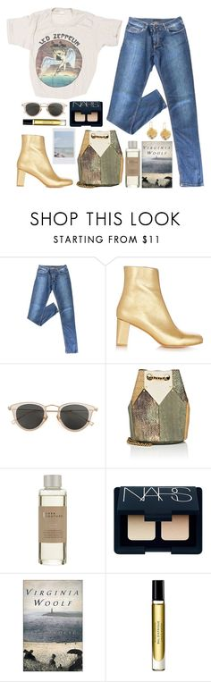 """""""3 JULY"""" by mariimontero ❤ liked on Polyvore featuring Prada, Maryam Nassir Zadeh, Issey Miyake, Jérôme Dreyfuss, Casa Couture, NARS Cosmetics, Byredo and Chloe + Isabel"""