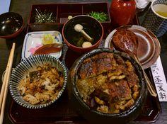 [I ate] grilled eel in an 140-yr old restaurant in Nagoya Japan