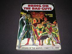 Bring On The Bad Guys TPB 1, (1976 Fireside), 1st Print, Marvel  B04