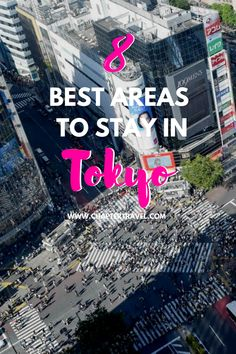 Are you not sure where to stay in Tokyo? Check out this guide with the 8 best areas to stay in Tokyo. Tokyo has over 20 district wards, so it can really be overwhelming to pick the right area for your hotel. It's really important that you stay somewhere convenient, so that you can easily travel around in Tokyo. In this post we share where to stay in Tokyo, and what the best districts are. Plus, some of the best hotels in Tokyo! #Tokyo #Japan