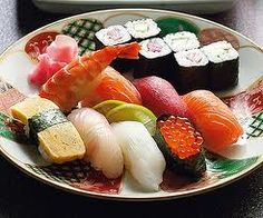 I don't know why, but I'm always down for some sushi. :3 <3