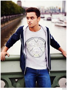 Tom Daley Partners with Adidas NEO for Campaign + Collection image Tom Daley Adidas Neo 005 800x1065