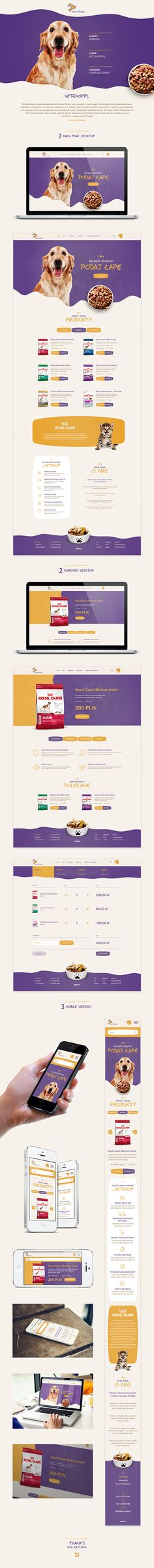 Vet-shop.pl - Web Design