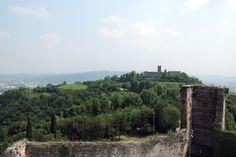 The Castles of Romeo and Juliet at Montecchio Maggiore