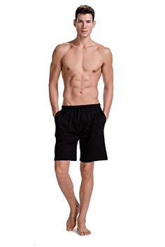 CYZ-Mens-Sleep-Shorts-100-Cotton-Knit-Sleep-Shorts-Lounge-Wear