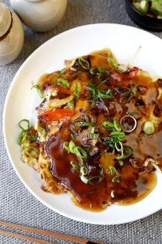 Quick and Easy Chicken Egg Foo Young Recipe asian cooking Egg Fu Young Recipe, Chicken Egg Foo Young Recipe, Chicken Eggs, Chicken Recipes, Healthy Egg Foo Young Recipe, Healthy Chicken, Healthy Chinese Recipes, Asian Recipes, Gourmet Recipes