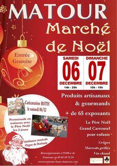 Marché de Noël de Matour les 6 et 7 décembre 2014.
