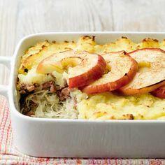 Zuurkoolschotel met gehakt en appel - Mijn Favoriete AH recept - Margreet Meijer - Albert Heijn - via http://bit.ly/epinner