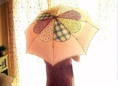 How To Make A Fabric Umbrella #howto #tutorial