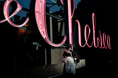 Simmone von Sydney Photography - bride and groom on Chelsea Hotel rooftop in Atlantic City.