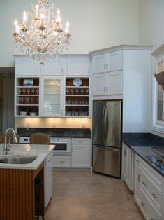 """""""corner Refrigerator"""" Design Ideas, Pictures, Remodel, and Decor - page 5"""