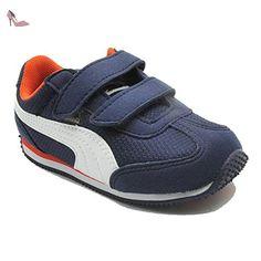 Puma , Chaussures de gymnastique pour garçon - bleu - blu - 008 PEACOT, 25x EU - Chaussures puma (*Partner-Link)