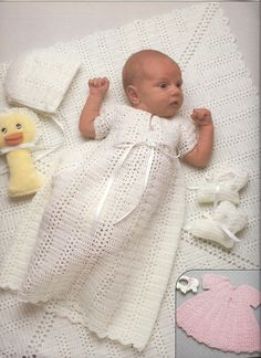 Baby Layettes To Knit & Crochet Book 2 by KnitKnacksCreations