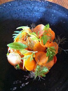 The best restaurant in the world (Carrots @ Noma by Blue Square Thing, via Flickr), Copenhagen Denmark