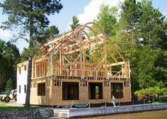 Hybrid Timber Frame (2)