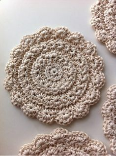 Crochet Star Stitch in the round