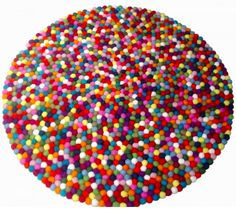 We love this Pinocchio Felt Ball Rugs, which we have fondly named