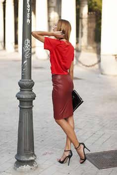Made With Fashion | a fashion blog by Andrea Gomez: SPORT LEATHER http://www.madewithfashion.com/