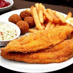 Want a crispy, Southern-fried fish recipe? Zatarain's Crispy Southern Style Fish-Fri gives catfish, or any fish, an especially crisp texture.