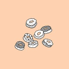 Ali Bruce Donuts Illustartion